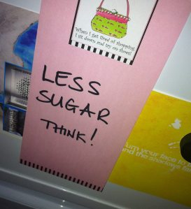 less sugar fridge
